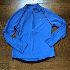 Avia Periwinkle Blue + Black Athletic Pullover L